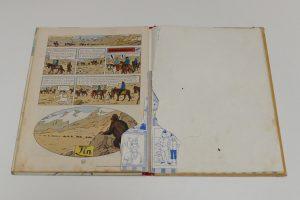 q-BD-Tintin-coiffe-retouche-couleur-dechirure-dos-bande-dessinnees_atelier-restauration-papier